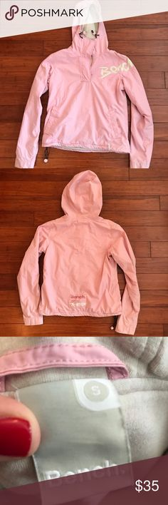 32359d170429dc Bench Pullover Jacket Light pink Bench brand pullover jacket with 1/4 zip  Bench Jackets