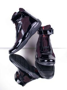 Gianfranco Ferre Shoes for Men | MEN / Prada / Shoes / Prada Prada High Top Shoes For Men-Black ...