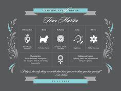 dog birth certificates