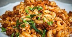 Recipes Pasta Bake Macaroni And Cheese 27 Best Ideas Baked Macaroni, Macaroni And Cheese, Pasta Cheese, Good Healthy Recipes, Vegetarian Recipes, Delicious Recipes, Minced Meat Recipe, Baked Pasta Recipes, Macaroni Recipes