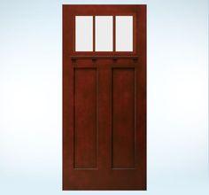 Flagstone birches and level 3 on pinterest for Jeld wen architectural fiberglass door