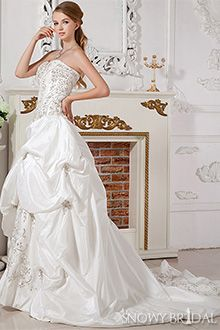 Sparkle Corset Wedding Dresses - W0005