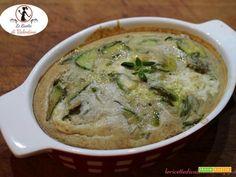Tortino di zucchine con farina di grano saraceno e burrata  #ricette #food #recipes