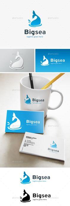 Big Sea Business Logo - Animals Logo Templates