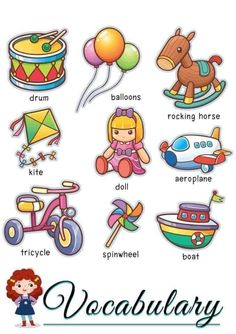 English Games For Kids, English Worksheets For Kids, Kids English, English Phrases, Learn English Words, English Lessons, Teaching English Grammar, English Vocabulary, Preschool Learning Activities