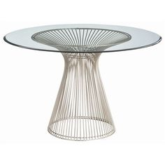 Nova Glass Table - Arteriors Home | Tonic Home $2400 http://www.tonichome.com/collections/tables/products/nova-glass-table-arteriors-home