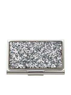 Gift guides 50 under kate spade silver street business card business or pleasure this slightly glamorous case will keep your business cards clean and crisp reheart Gallery