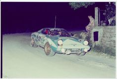 Wettbewerbshistorie meines Lancia Stratos - GP - Historic Rallying