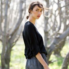 SALE! Kirsty top in black was $259 now $99