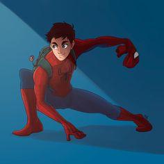 Spiderman by artilustra.deviantart.com on @DeviantArt