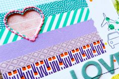 a little peek at a project by Amy Tan for our Washi Workshop - registration closes 5.31!