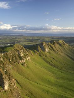 Te Mata Peak, Hawkes Bay, North Island, New Zealand. Could see these from my front room window - circa 1990