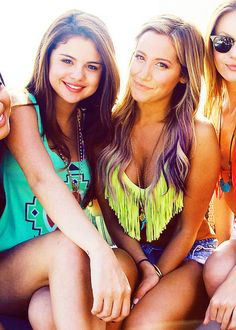 Ashley Tisdale and Selena Gomez