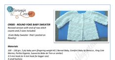 Latest version with additional size included Crochet Bebe, Crochet For Kids, Free Crochet, Crochet Baby Clothes, Crochet Patterns, Crochet Ideas, Baby Cardigan, Baby Sweaters, Baby Wearing