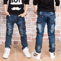 New boy jeans. jeans boy for 2 to 14 years old children wear fashionable style and high quality kids jeans,boys jeans 86208 - Kid Shop Global - Kids & Baby Shop Online - baby & kids clothing, toys for baby & kid Outfits Niños, Junior Outfits, Baby Boy Outfits, Kids Outfits, Kids Fashion Boy, Toddler Fashion, Kids Wear, Children Wear, Cheap Online Clothing Stores