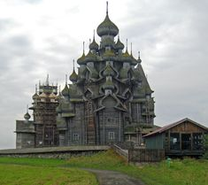 Cathedral of the Transfiguration of the Savior, Kizhi Island, Russia