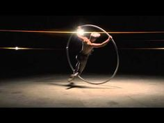 Elena Divina Cyr Wheel Artist - watch in HD, this is awesome!