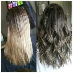 You're looking at my balayage ombre grown out about 3 months. At her natural…