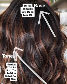 Just in case you missed my story on this beautiful formula! Jen VandenBos base a. Just in case you Brown Blonde Hair, Brown Hair With Highlights, Light Brown Hair, Dark Hair, Brown Hair For Fall, Hair Color And Cut, Brown Hair Colors, Fall Hair Colors, Cabelo Inspo