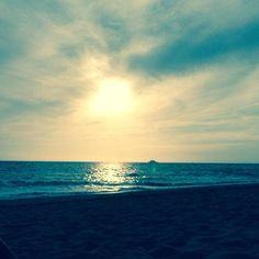 Riviera Maya beach Sunrise