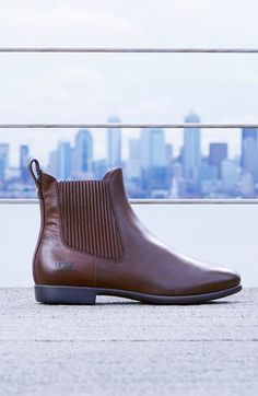 Pairing these UGG Australia booties with skinny jeans and a tee.