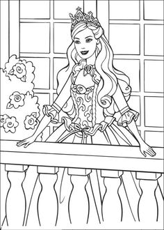 Barbie Princess Colouring Pages Find Here Free Printable Coloring For Kids Donwload And Color It