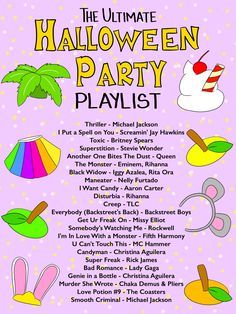 The Ultimate Halloween Party Playlist - Studio DIY - Real Time - Diet, Exercise, Fitness, Finance You for Healthy articles ideas Halloween Party Games, Halloween Food For Party, Holidays Halloween, Spooky Halloween, Zombie Party, Halloween 2020, Halloween Games For Adults, Diy Halloween Party Decorations, Halloween Costumes