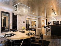 Elegant Eat-In Dining : Dahlia Mahmood : Dining Rooms : Pro Galleries : HGTV Remodels