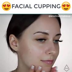 """Facial Cupping has been dated back to ancient times for improvement with the health of your body"" says celebrity facialist Ildi Pekler. It is an alternative healing processed based in traditional Chinese medicine. Facial Treatment, Skin Treatments, Anti Ride Naturel, Facial Cupping, Instant Face Lift, Natural Hair Mask, Face Yoga, Facial Exercises, Face Lift Exercises"