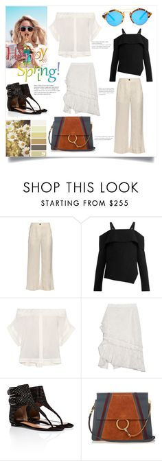 """Summer Fashion"" by bonnielindsay ❤ liked on Polyvore featuring Raquel Allegra, TIBI, Sea, New York, Oscar de la Renta, Wildfox, Laurence Dacade, Chloé and Illesteva"