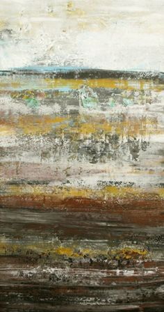 ARTFINDER: MINERAL VEIN - Original acrylic abstr... by Lisa Carney - This is an original abstract modern painting from my GeoHorizon series. An ongoing series inspired by subsurface horizons. I love the different textures and ...