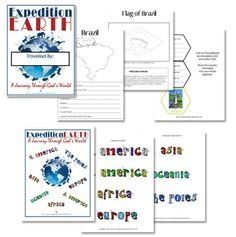 World Geography - expedition Earth curriculum from Confessions of a Homeschooler