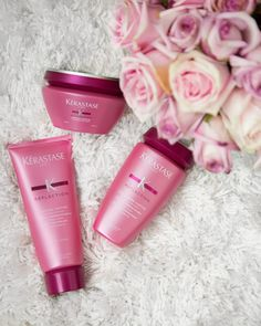 How to get the perfect shade of blonde with Kerastase Chroma Captive - A hair care collection designed to maintain and preserve color intensity of colored hair.