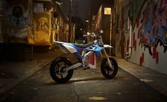 GORGEOUS electric Supermoto model from BRD Motorcycles!  THESE guys need to be part of the 2012 USA Pro Supermoto Series! A match made in Politically Correct Heaven!