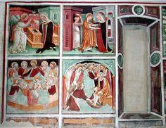 "MedioEvo Weblog: Visita guidata alla ""Biblia pauperum"" di Clusone"