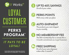 Enroll for the 90 day challenge today and take advantage of our Loyal customer program! #itworks #loyalcustomer  www.thatcrazyitwrap.myitworks.com