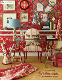 We will beat any advertised price on any Scalamandre fabric and wallpaper at Aubusson Home.  Contact us for more information.