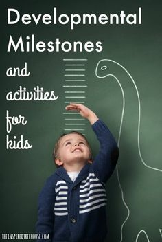 A comprehensive guide to child development for kids ages 1-5 including activities and milestones || fantastic resource for teachers, parents, caregivers