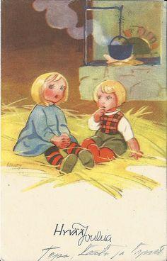 Martta Wendelin Christmas card | par neintje