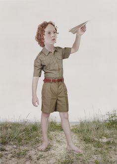 Paperplane by Loretta Lux.