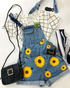 Tem alguma amora que ama girassol 🌻⁉️ . . #lookcloset #lookdodia #fashion #closetinspira #tumblrgirl #fashionblogger . 💰macaquito apenas…