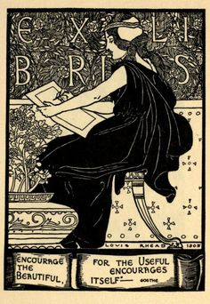 Louis Rhead, A collection of book plate designs (1907)