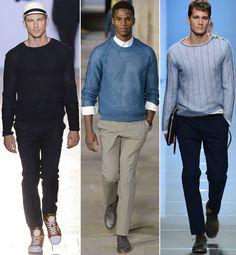 Men's+Fashion+Magazine+Over+50 | Men's Fashion Trend Spring/Summer 2013: Light Knitwear