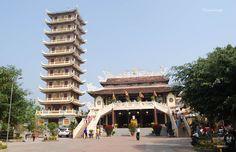 Chùa Cam Lộ - Quang Tri, Vietnam.