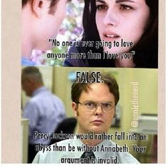 Percy Jackson: obviously way better than Twilight..