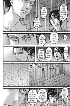 Shingeki No Kyojin Chapter 107 Attack On Titan Season, Attack On Titan Anime, Otaku, Pretty Drawings, Poster Layout, Manga Covers, Manga Pages, Titans Anime, Drawing Techniques