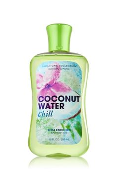 Coconut Water Chill Shower Gel - Signature Collection - Bath & Body Works