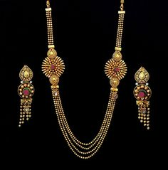 Indian Fashion Bollywood Bridal Long Necklace Jewelry Earrings Polki 22k Set f77 #Indian