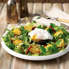 Breakfast salad with new potatoes recipe. For the full recipe, click the picture or visit RedOnline.co.uk