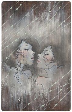 カイ: Audrey Kawasaki Tattootip ♊️. Great artist by the way! Look4more